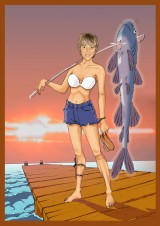 Fishing Girl