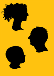 Pop' Silhouette Trio