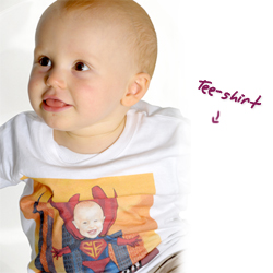 Tee-shirt bébé Cloonies